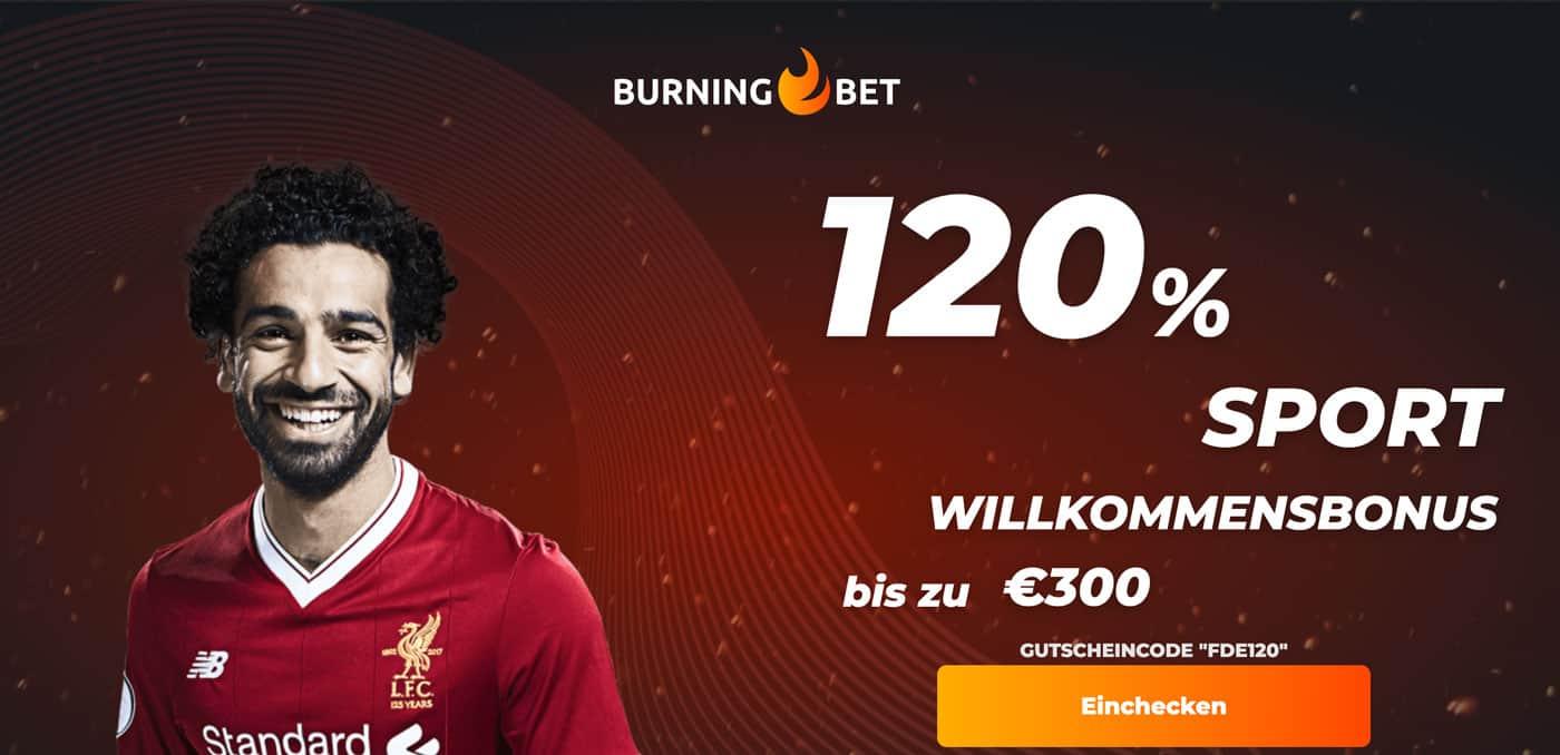 Burningbet Bonus