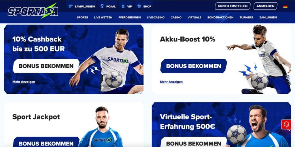 Sportaza Bonus